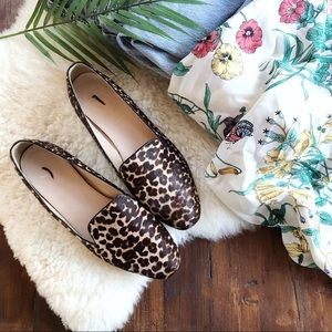 J.Crew Collection • Darby Calf Hair Leopard Print